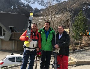 JM.Silva (France Montagnes), CA.Ginesy (ANMSM), M.Bauer (Val d'Isère)