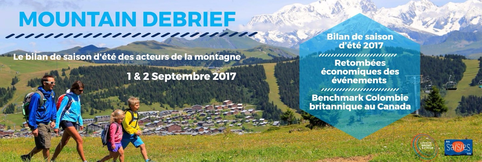 Mountain Debrief – 1er et 2 septembre 2017